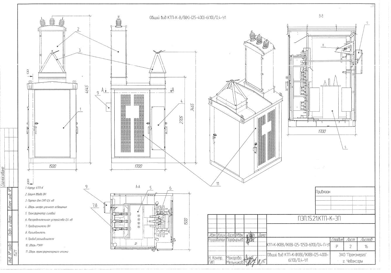 проект организации строительства на трансформаторную подстанцию